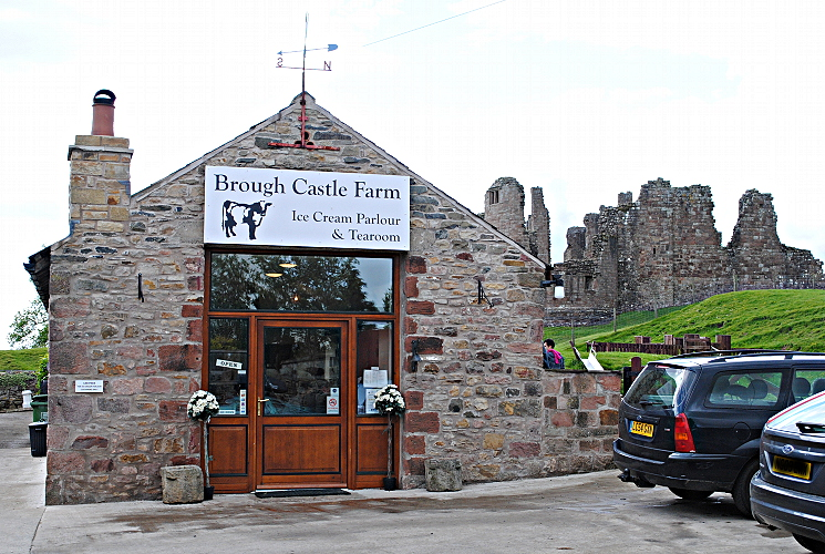 Ice Cream at Brough Castle - Eden Valley