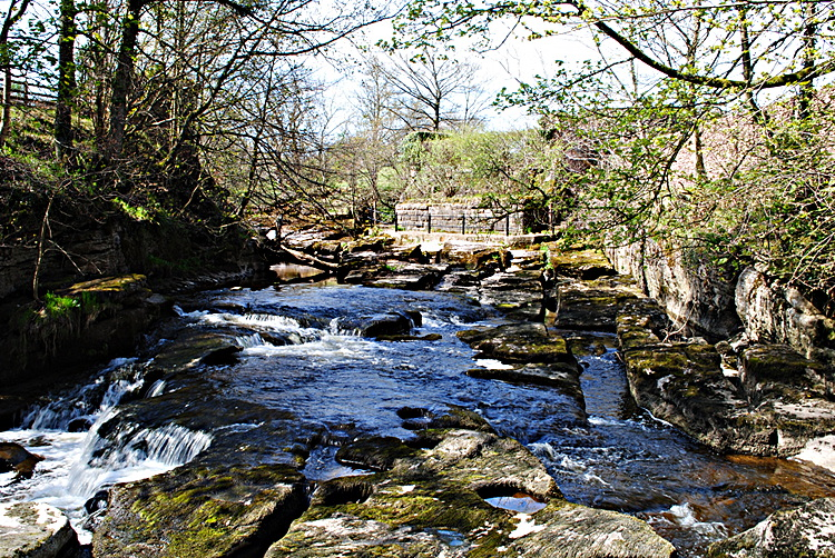 The Eden above Stenkrith Bridge Kirkby Stephen