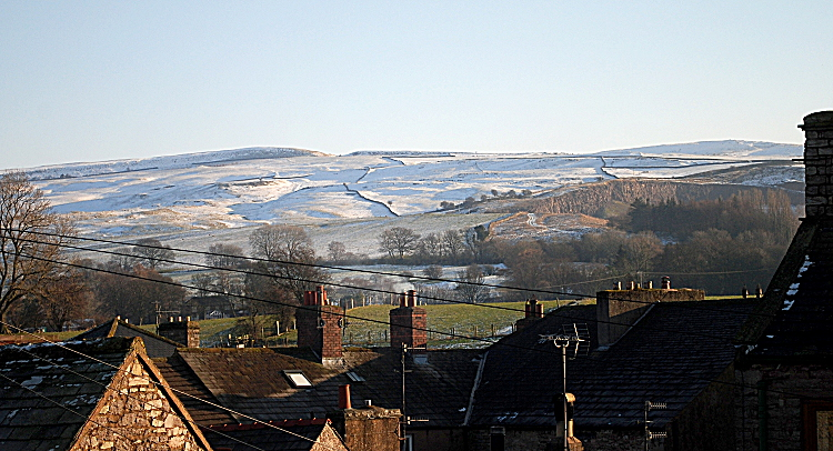 Kirkby Stephen Cumbria - Eden Valley winter