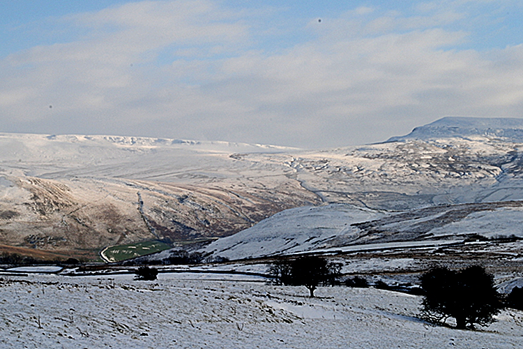 Cumbria - Mallerstang Valley and Birkett Common - River Eden by Dalefoot