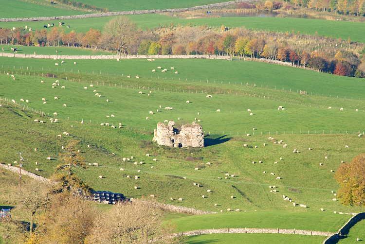 Lammerside Castle Mallerstang Eden Valley Cumbria